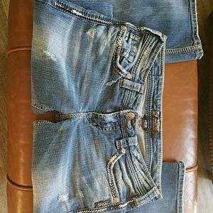 Silver Aiko distructed jeans